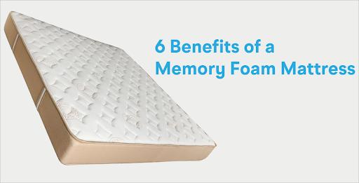 6 Benefits of a Memory Foam Mattress